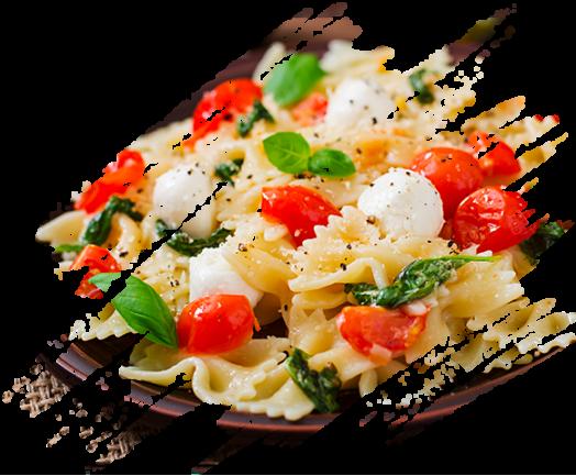 Salade de pâtes-Mozzarella