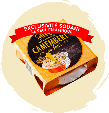 Fromage Camembert au Four 130GR Tunisie
