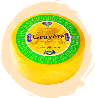 Fromage Gruyère sans sel Tunise