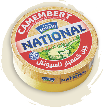 Fromage Camembert NATIONAL 250GR Tunisie